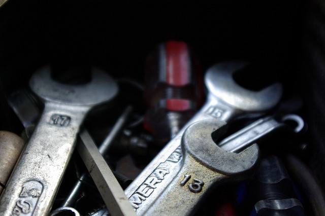 Alles was klingt – Schraubenschlüssel